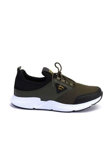 Slazenger Slazenger ZONE Koşu & Yürüyüş Erkek Ayakkabı Haki Haki